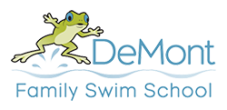 DeMont Family Swim School Logo